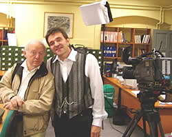Greg with Paul Daniels