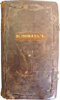 St Ishmael's parish register